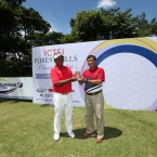 tony lascuna with GM atty romeo carlos,forest hills golf and country club