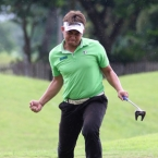 mondilla made fist after a eagle in 13