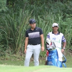 tabuena troubled in hole 4 rough