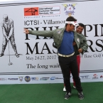 cassius casas former Phil masters champion help clyde mondilla the official jacket uniforms of the Phil airforce