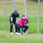 quiban and rhounimi in hole 17