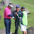 quiban and rhounimi in hole 9