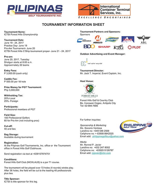 ICTSI Forest Hills Infosheet 2017