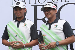 ICTSI National Pro-am Open: Asistio-Eustaquio nails 1st PGT Pro-am crown in playoff
